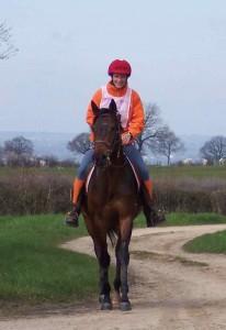 Première sortie d'Olivo en course d'endurance Jeunes chevaux !