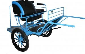 attelage 2 roues Rancho en version sport