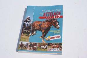 couverture du livre les fondamentaux de l'attelage, galops 1 à 7
